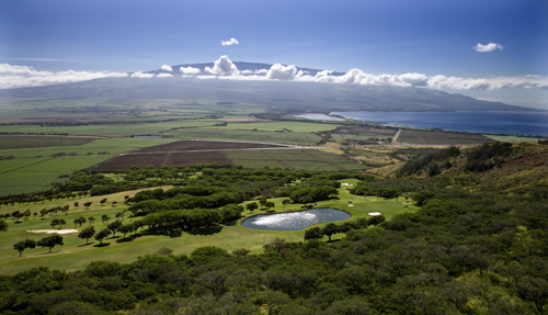 Kahili Golf Course aerial view